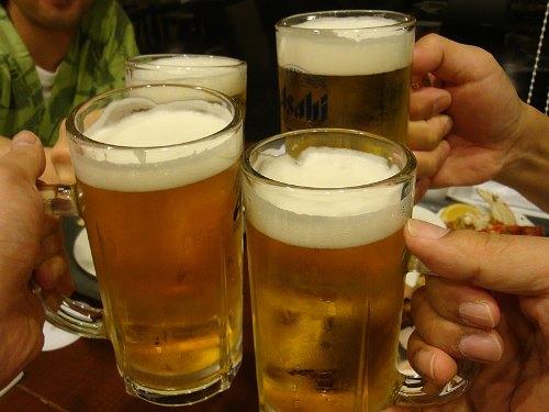 サンプル-乾杯